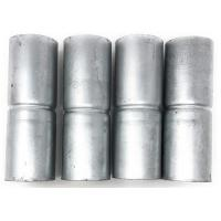 Buy cheap Chain Link Fence Top Rail Sleeves Galvanized With Pack Set of 4 from wholesalers
