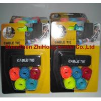 Buy cheap OEM wholesale multi-size adjustable self-locking Velcro cable tie wrap tapes from wholesalers
