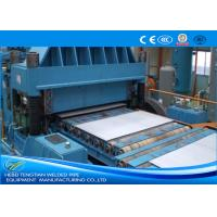 Buy cheap Color Steel Cut To Length Line Machine Blue Colour Full Automatic PLC Control from wholesalers