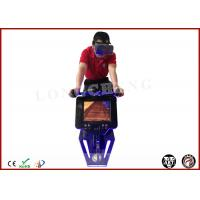 China Small Space Entertainment Machines Vr Cycle / Bike Simulator for Gym Equipment on sale