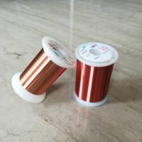 Wholesale 0.028mm Polyester Enameled Ultra Fine Copper Wire For Transformers / Relays from china suppliers