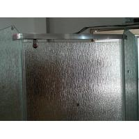 Buy cheap 12mm Bathroom Partition Figured Glass, Custom Frosted Tempered Glass 1000*2000mm from wholesalers