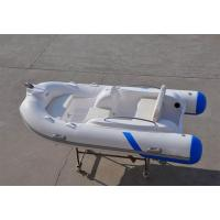 Buy cheap Liya 3.3m fiberglass hull material inflatable boat with center console and seat from wholesalers