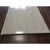 Buy cheap Wood Grain Bathroom PVC Ceiling Panels Seamless Connection 3.5kg / m2 30cm x 9mm from wholesalers