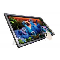 Landscape / Portrait Wall Mounted Advertising Display Touch Screen Digital Signage