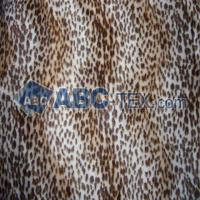 Buy cheap Leopard Print Velboa from wholesalers