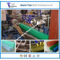 Buy cheap PVC Suction Hose Extrusion Line / Plastic spiral Winding Reinforced Hose Making Machine from wholesalers