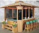 Buy cheap Wooden House Hot Tub Gazebo With Red Pine / White Fir Material from wholesalers