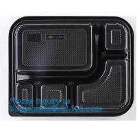 Buy cheap clear blister clamshell plastic raspberry containers,lunch box 4 compartment PP Blister pack Food Containers Disposable from wholesalers
