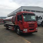 Buy cheap 4x2 FAW Left Hand Drive Asphalt Distribution Truck 12cbm 14cbm 10001 - 15000L from wholesalers