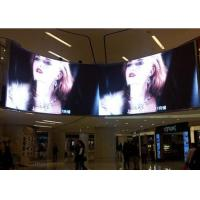China Energy Saving Curved LED Screen , 360 Degree LED Display Module Inside on sale