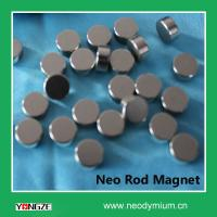 Buy cheap Factory Directly Sale Neodymium Nikel-coated Rod Magnet from wholesalers