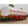 Buy cheap 3 axle 25M3 - 35M3 Asphalt Tanker Bitumen Tank Trailer / Asphalt Bitumen Tank / Bitumen Tank Semitrailer from wholesalers