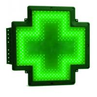Buy cheap P10 Digital Green Pharmacy Cross Sign Animated Double Faced Waterproof IP65 from wholesalers