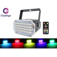 Buy cheap Remote Control Stage Strobe Lights Super Bright 48 RGB Sound Activated Party from wholesalers