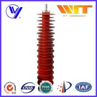 110KV Metal Zinc Oxide Lightning Surge Arrester Used in Substation Over Voltage Protection Manufactures