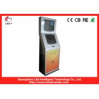 Buy cheap LCD Freestanding Dual Screen Kiosk Information For Healthcare from wholesalers