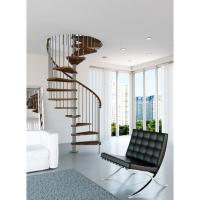 Wholesale Australia Modern luxury spiral glass stairs for Indoor China supplier from china suppliers