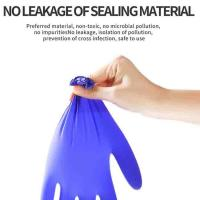 Buy cheap Surgical Disposable Nitrile Gloves  Anti Virus Dentist Examination Medical Use from wholesalers