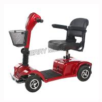 Buy cheap Durable Transportable Electric Mobility Scooter , 4 Wheel Electric Scooter from wholesalers