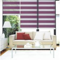 Buy cheap Roller blinds , Window blinds roller blinds fabric 100% polyester blackout  roller blinds fabric ready made roller zebra from wholesalers