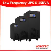 Buy cheap 6-15KVA Black Color GP9111C 1 Ph in / 1 Ph out Low Frequency Online UPS from wholesalers
