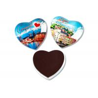 China Eco - Friendly Refrigerator Magnet Sheets Crystal Glass Dome Tourist Souvenir on sale