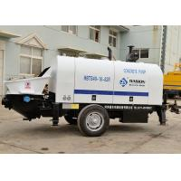 Buy cheap Compact Trailer Concrete Pump , 40m3/H Diesel Engine Type Reed Concrete Pump from wholesalers