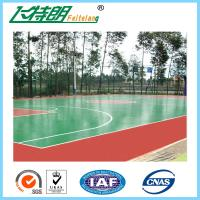 Buy cheap ISO Acrylic Sports Surfaces Recycled Flooring Materials Environmental Friendly from wholesalers