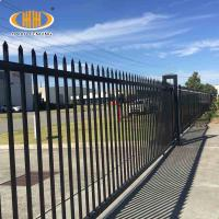 Buy cheap DIY Security Backyard Steel Fence 5 ft Height Aluminum Fence Panel from wholesalers