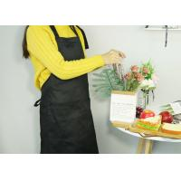 Buy cheap Adjustable Kitchen Cooking Apron , 100% Cotton Canvas Cooking Apron With Long Waist Straps from wholesalers