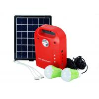 Buy cheap Mini Portable Solar Power System Kit With Torch USB Output Compact Design from wholesalers