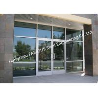 Buy cheap Modern Commercial Decorative Soundprrof Glass Door Swing Aluminum Frame Glass Door For Sale from wholesalers