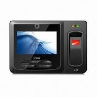 Buy cheap Touchscreen Fingerprint Time Attendance Machine with Linux 2.6 and Card Reader Inside from wholesalers