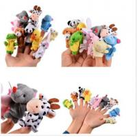 Buy cheap Soft Plush Animal Finger Puppets Story Time Velvet for Toddlers 10pcs from wholesalers