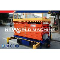 Wholesale SJPT Series 20m 300kg Mobile Hydraulic Platform Lift / Ladder Lift from china suppliers