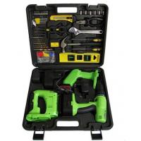 China 108pcs DIY Screwdriver Drill Cordless Power Tool Set / Kits Multifunction for Home Use on sale