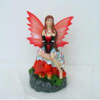 Buy cheap Polyresin Solar Fairy Figurines (SFR0582) from wholesalers