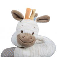 Buy cheap Giraff Shape Newborn Plush Toys Embroidery Logo Customized Size Easy Cleaning from wholesalers