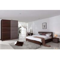 Buy cheap Luxury Hotel Particleboard Melamine Bedroom Furniture With Night Stand from wholesalers