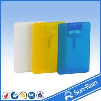 Buy cheap 20ml Card type Refillable Travel Perfume Bottle with sprayer from wholesalers