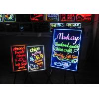 Buy cheap Remote Control LED Writing Boards 50cm X 70cm High Brightness Tempered Glass from wholesalers