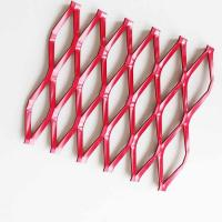 Buy cheap A6063 Anode Anodizing Expanded Aluminum Mesh For Curtain Wall from wholesalers
