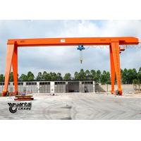 Buy cheap MH Type Rail Mounted Indoor Gantry Crane , Portable Gantry Crane Easy To Use from wholesalers