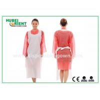 Buy cheap CE Transparent Plastic PE Disposable Aprons for Food Service , Medical Grade from wholesalers