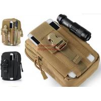 Buy cheap Outdoor Tactical Holster Military Molle Hip Waist Belt Bag Wallet Pouch Purse Phone Case with Zipper for iPhone 7/LG from wholesalers