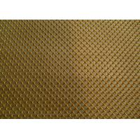 Wholesale Golden Color Aluminum Metal Mesh Drapery For Decorating Fireplace Mesh Curtain from china suppliers