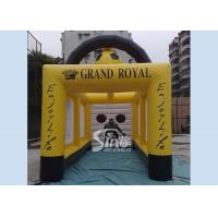 Buy cheap Customized Outdoor Giant Inflatable Football Goal Tent For Kids And Adults Games from wholesalers