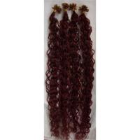 Buy cheap Supply Keratin tiped hair extension,nail hair extension,stick hair extension from wholesalers