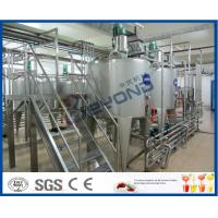 China Milk Processing Project Dairy Processing Plant With Stainless Steel Fermentation Tanks on sale
